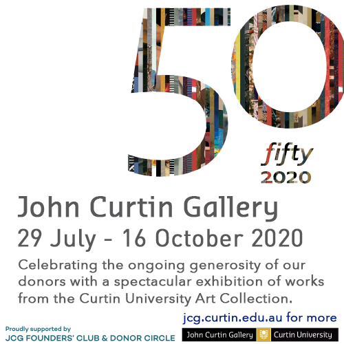 John Curtin Gallery 50fifty: 2020