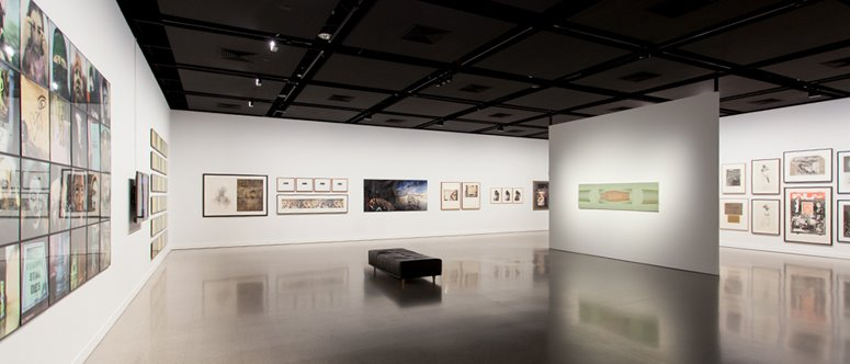Director's Cut, installation view, at John Curtin Gallery, 2018. Image courtesy of John Curtin Gallery