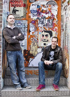 CultureLabel's Simon Cronshaw and Peter Tullin