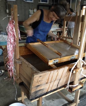 Claire Beausian, Awagamia Factory Summer Workshop and Residency 2015