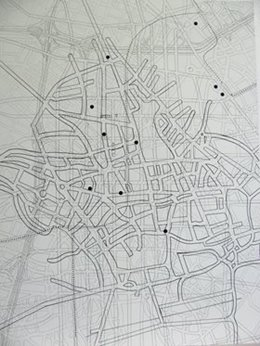 Simone Johnston, A surveyor's map of his lost fields and meadows 3.