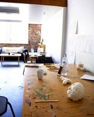 Clare Peake, Artspace Residency Day 6 #studiotime, 2016. Image courtesy of the artist.
