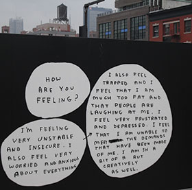 Highline-on-Manhattan-showing-a-billboard-presumably-by-artist-David-Shrigley,-2012.-Photo-by-Helen-Smith