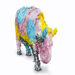 Minaxi May, Bubblegum Bessie, 2016 CowParade Perth. Photographer: Christophe Canato