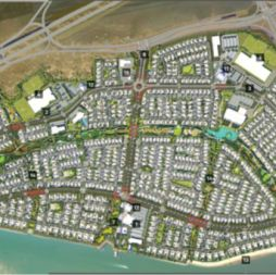 Yas Island development – artist impression