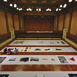 Judging for the 2013 Fremantle Print Awards at Fremantle Town Hall.