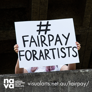 NAVA #fairpayforartists