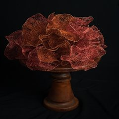 Sally Stoneman, Bloom, 2015, crocheted copper wire