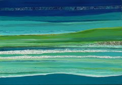 Lyn Franke, Reef Series I, 2016, 76x102cm, acrylic mixed on canvas