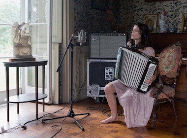 Ragnar Kjartansson, 'The Visitors', 2012. Nine-channel HD video projection, 64 mins. Photo: Elisabet Davids.