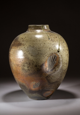 More wood-fired stoneware pieces from York. Image: Kevin Gordon