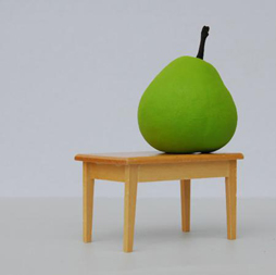 Angela McHarrie, 'Pear on a Table', 2007.