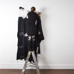 Marzena Topka, Time Punch, 2014 Shirts. Dimensions variable. Image: Bo Wong